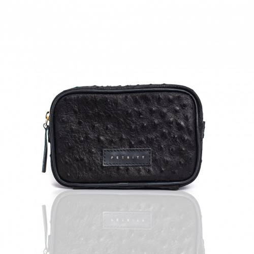 BEAUTY CASE (Black Dotted)